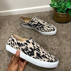 Lafayette 148 Bade Sneakers Shoe Leopard Fashion
